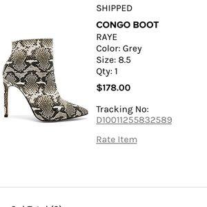 Raye Boot worn once